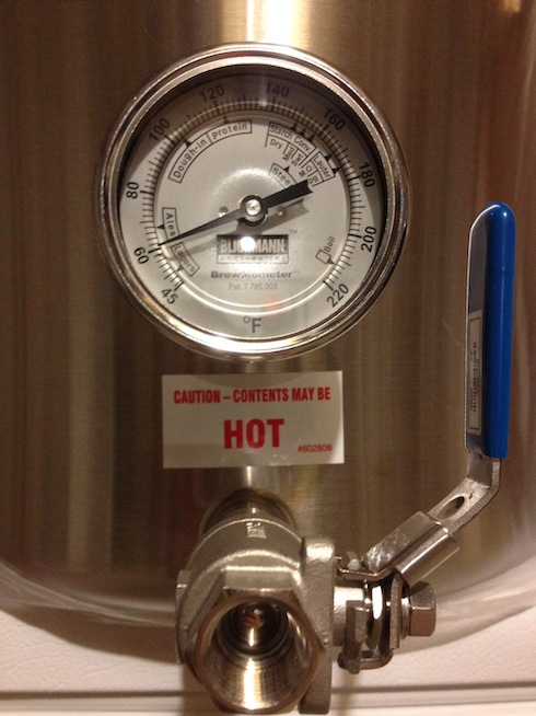 boil kettle with brewmometer